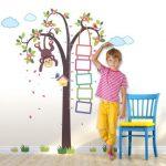 Otroški meter za na steno
