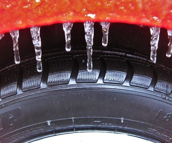 Zimske gume so narejene iz mehke gume
