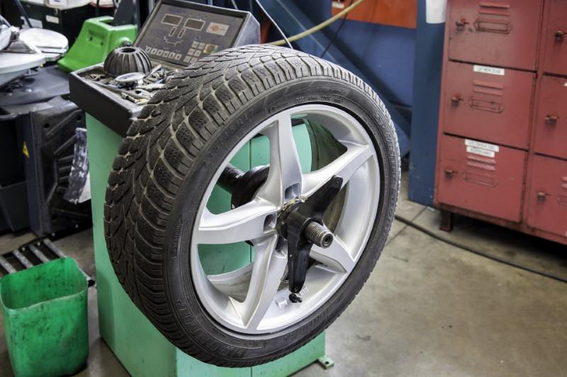 Menjava zimskih gum za avto